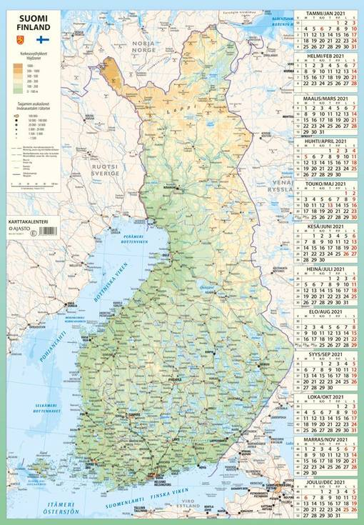 Suomen Kartta 2021